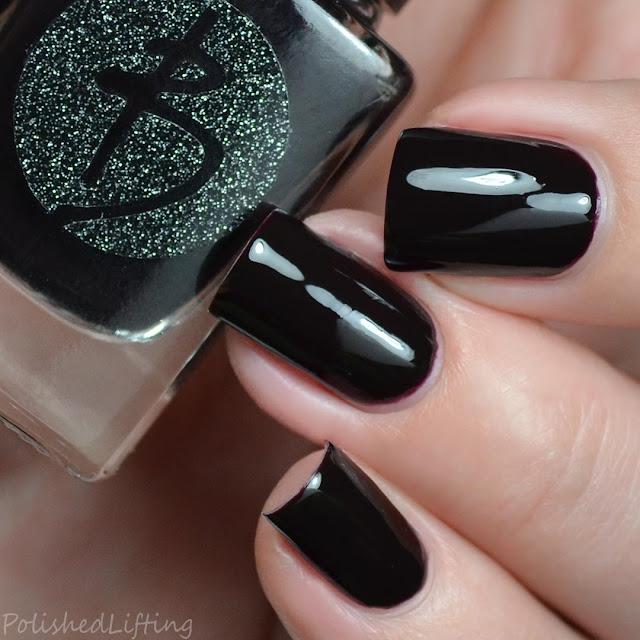 oxblood creme nail polish
