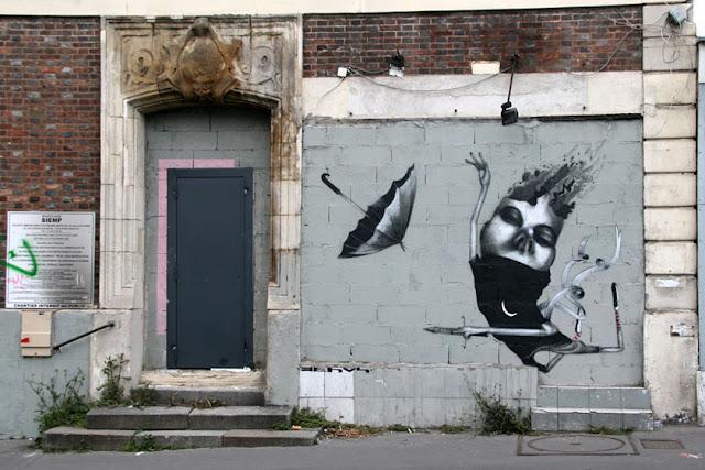 Мрачные рисунки на стенах. Ethos 7