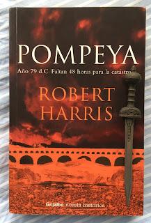 Portada del libro Pompeya, de Robert Harris