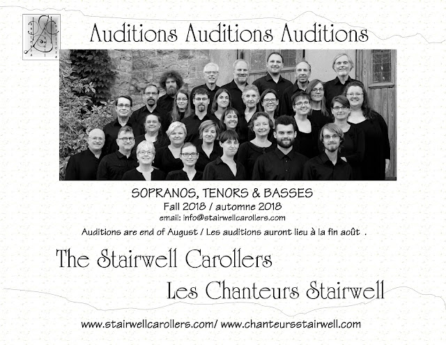 Aug 2018 Audition for the Stairwell Carollers