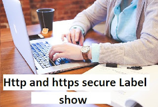Http and https secure Label show kaise dekhe