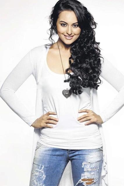 Sonakshi Sinha sizzling in white