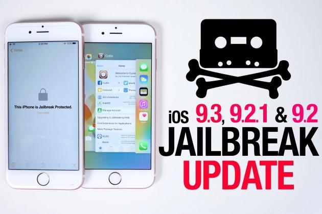 Công cụ Jailbreak iOS 9.3.3 chính thức có bản tiếng anh