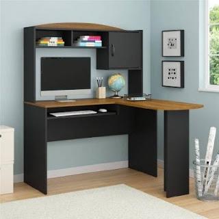 Corner Computer Desks For Small Spaces Corner Computer Desks With Hutch