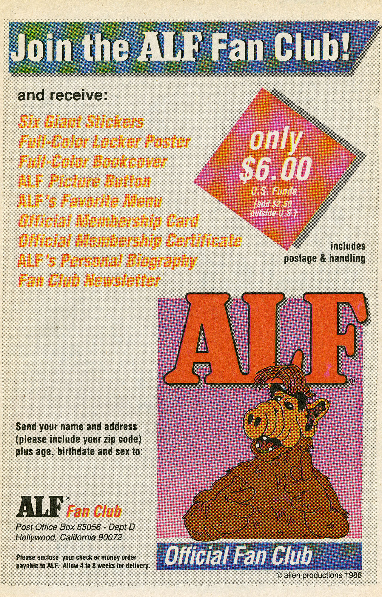 Read online ALF comic -  Issue #15 - 23