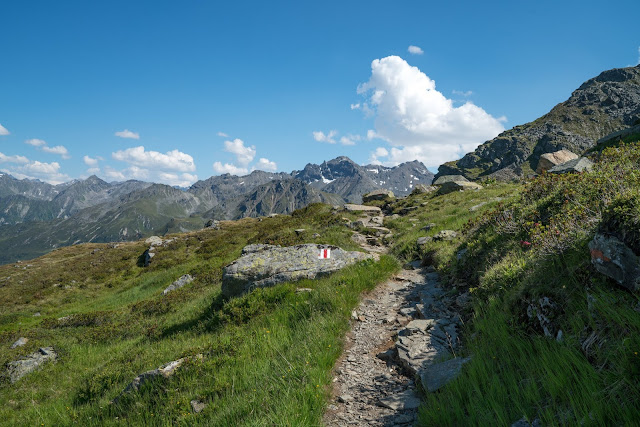 Gipfelweg Madrisella  Wandern Silvretta-Montafon  Vorarlberg 03