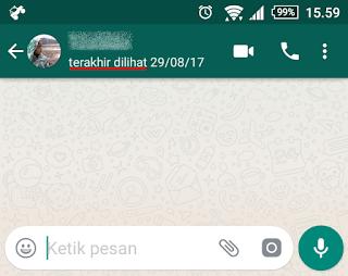 terakhir online di whatsapp