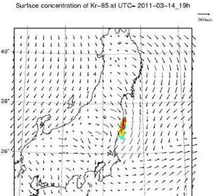 #Fukushima Nuke Accident: WSPEEDI Shows Tokyo Was Under