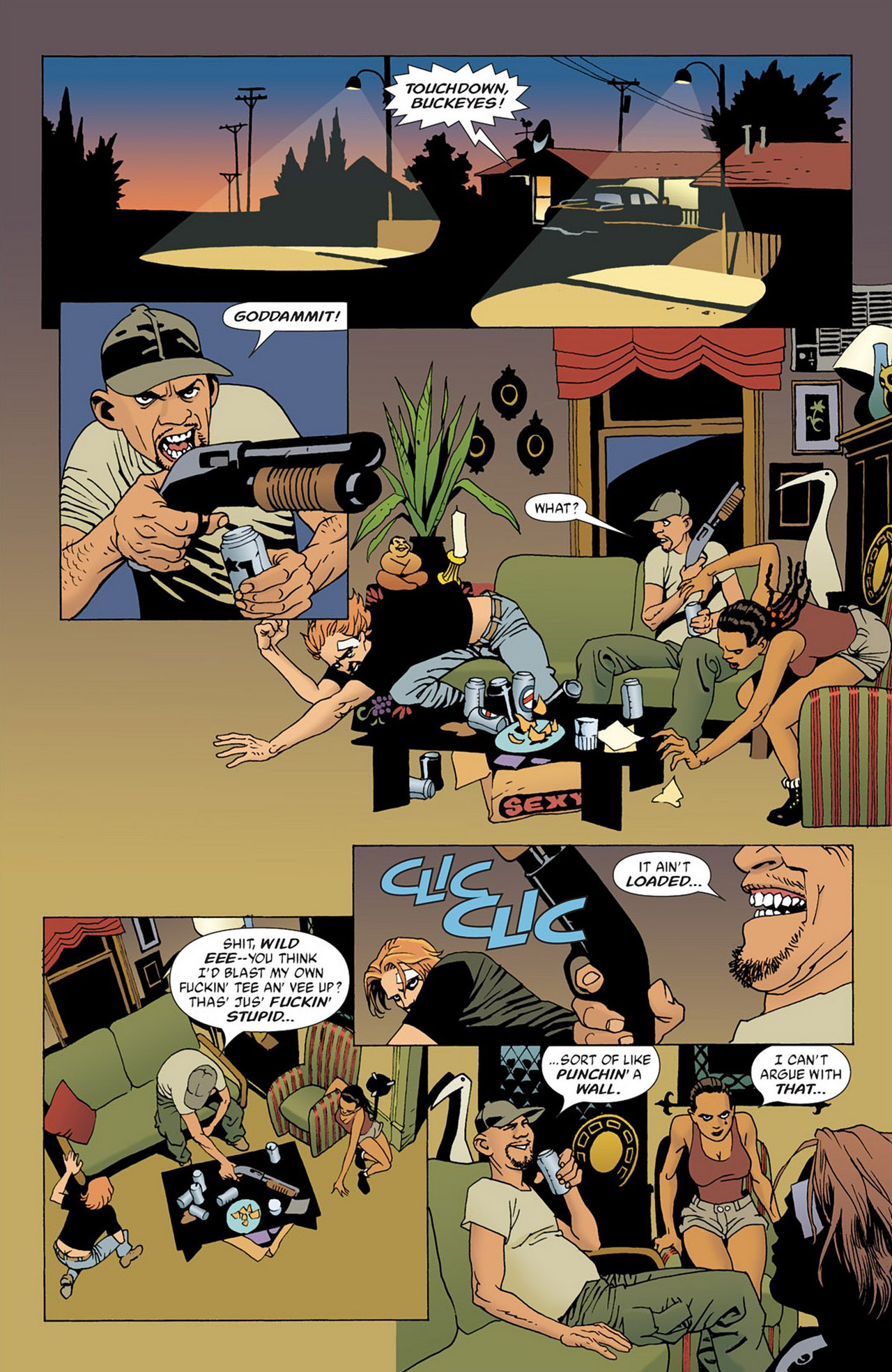 Read online 100 Bullets comic -  Issue #54 - 12