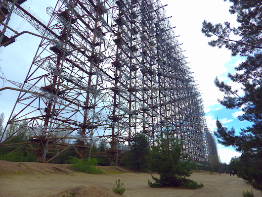 Far Flung Places: The Duga. A Secret Soviet Radar Array in the exclusion zone