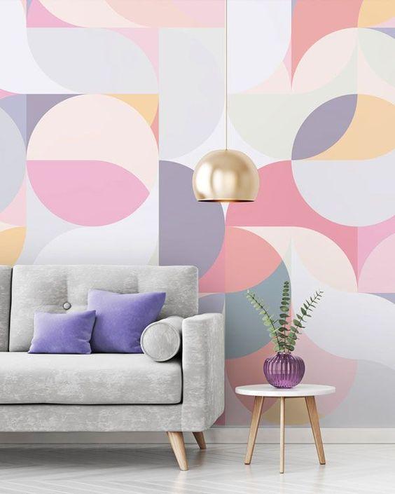 12 Ideen für geometrische Malerei an der Wand