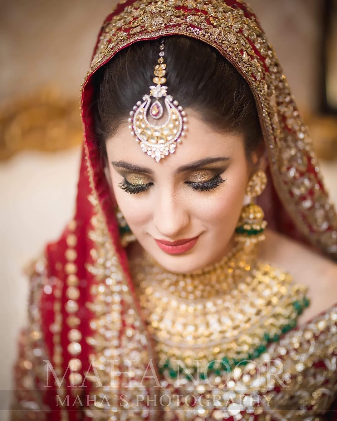 fashion freak: pakistani bridal makeup 2019