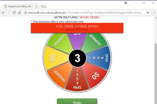 Microsoft.com.cdn.pcsafer4.win pop-ups
