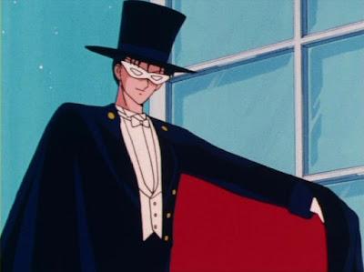 tuxedo mask sailor moon masked anime character