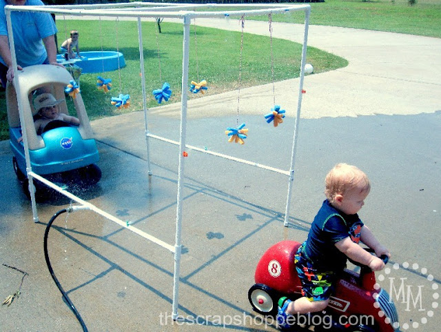 BEST PVC Pipe Car Wash Tutorial with water bombs