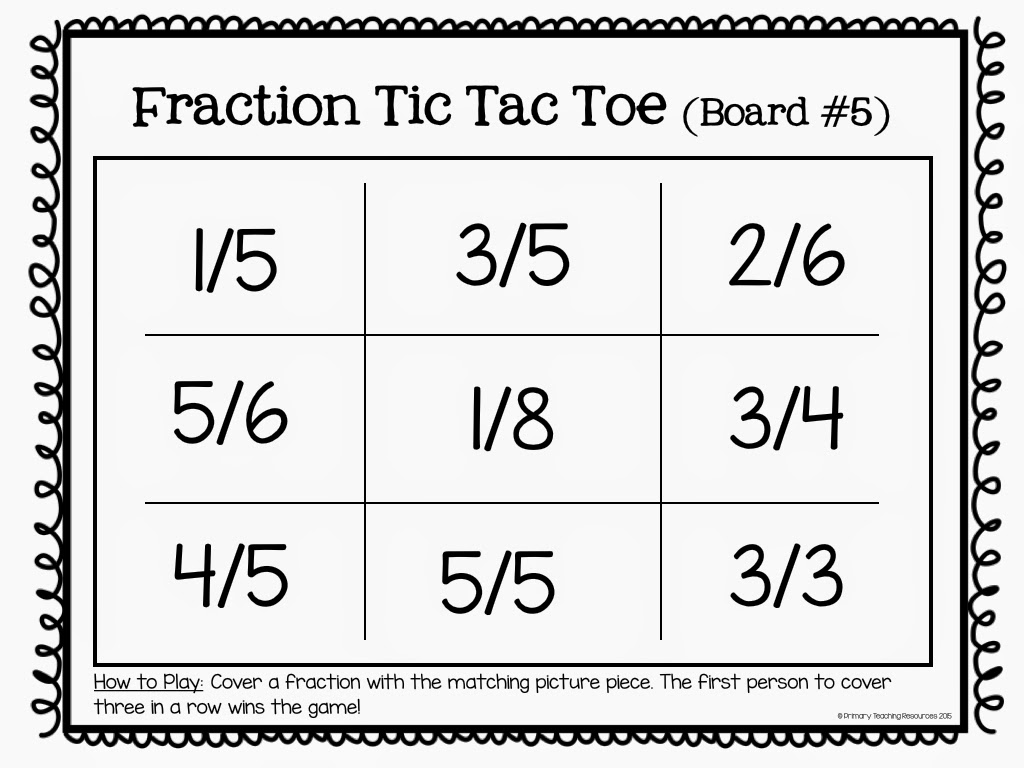 Fraction Worksheet Packet