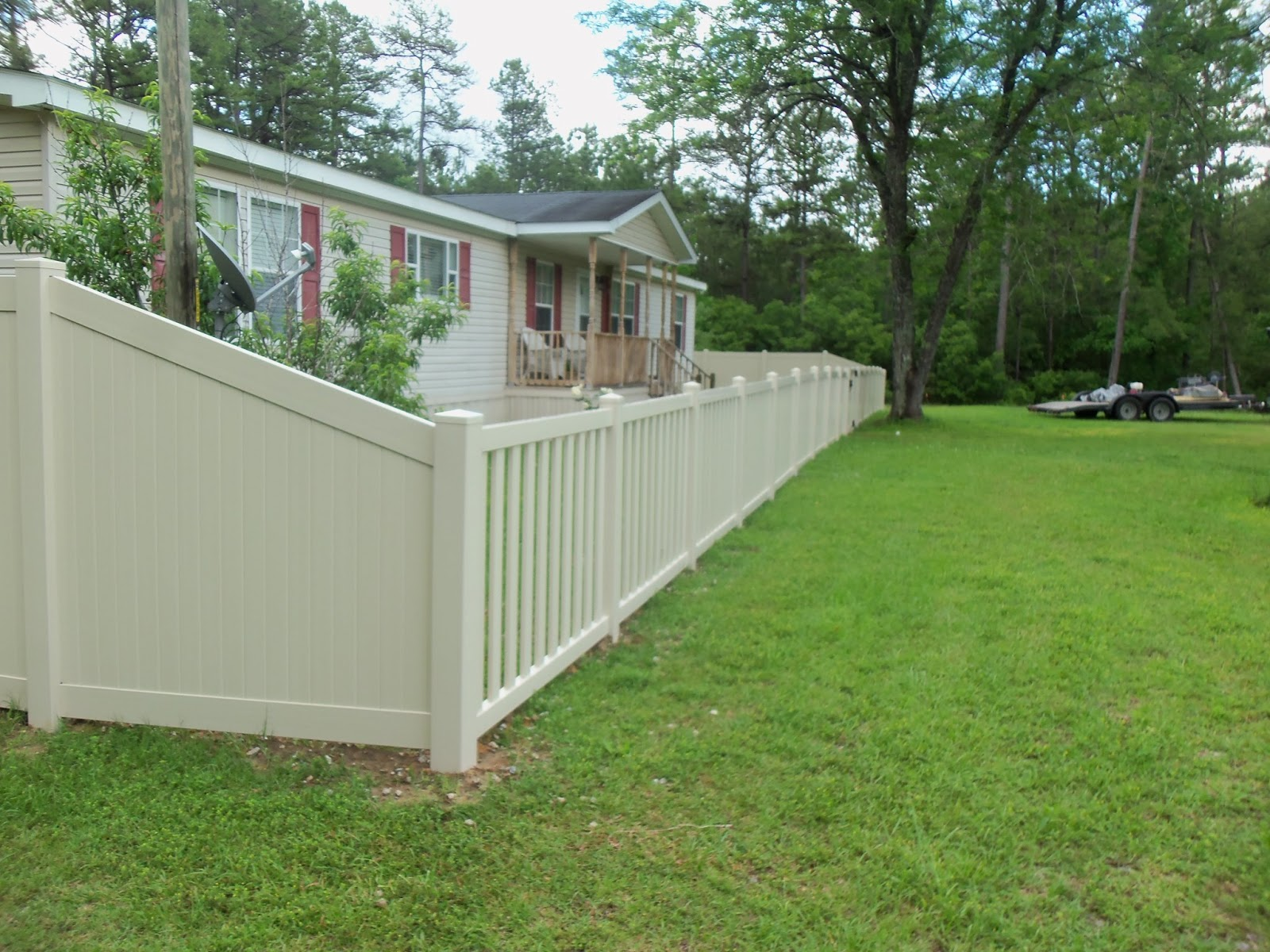 Town Amp Country Fences Llc Poly Vinyl Creations Install