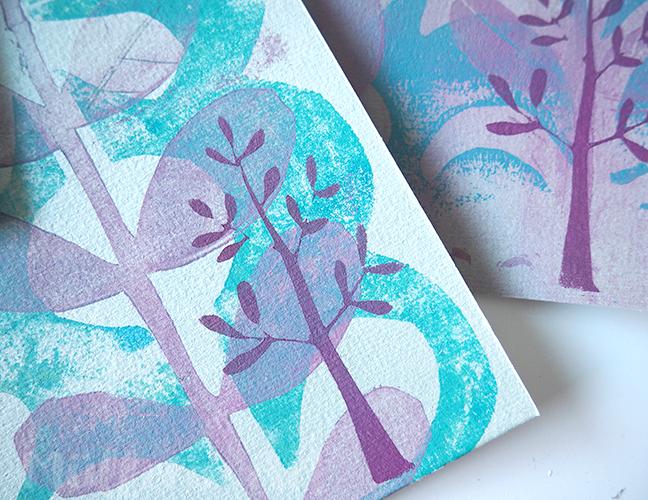 Frühlingsdank Postkarten ©muellerinart