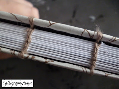 Reliure cousue (Coptic Stitch Binding)