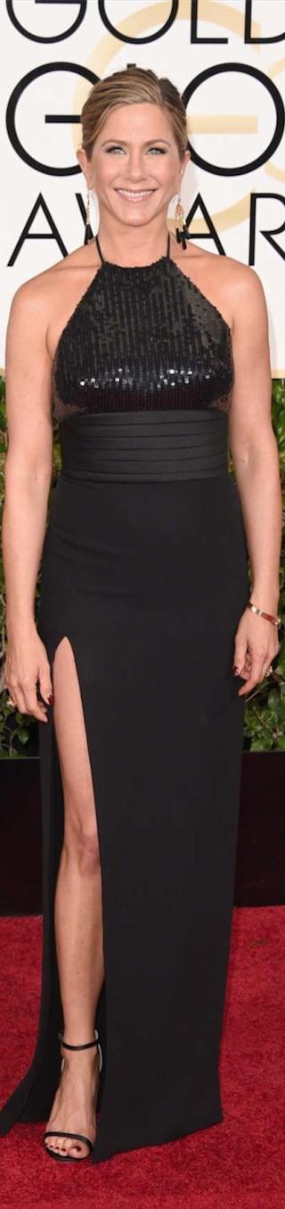 Jennifer Aniston 2015 Golden Globe Awards