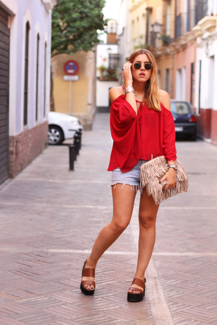 Boho off the shoulder