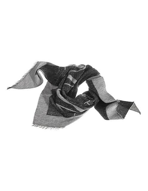 madeleine soft frayed edge triangular scarf
