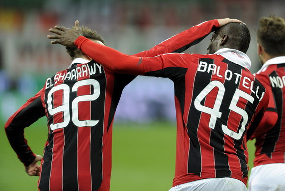 Stephan El Shaarawy has formed a firm friendship with Mario Balotelli at AC Milan