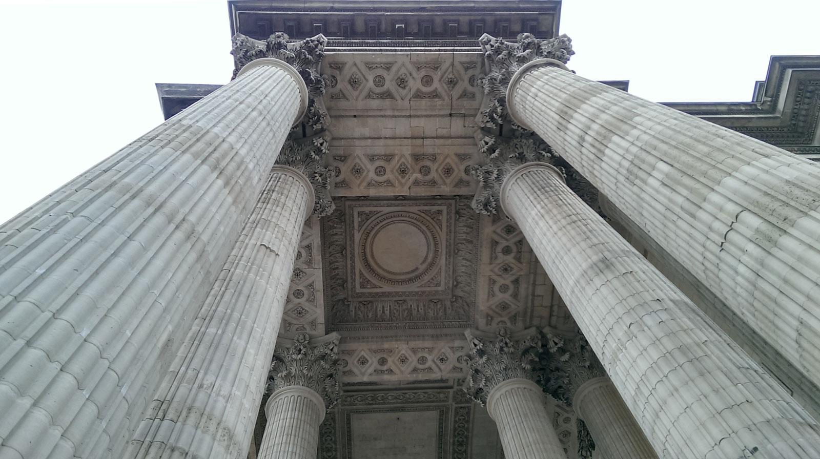 Le Panthéon, París, marzo 2017