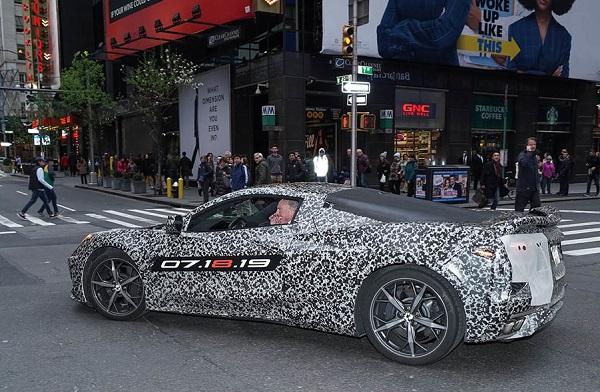Nuevo Chevrolet Corvette Motor Central