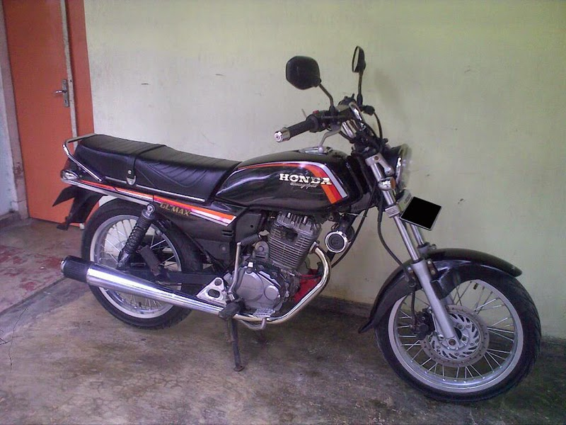 Top modifikasi motor honda gl max