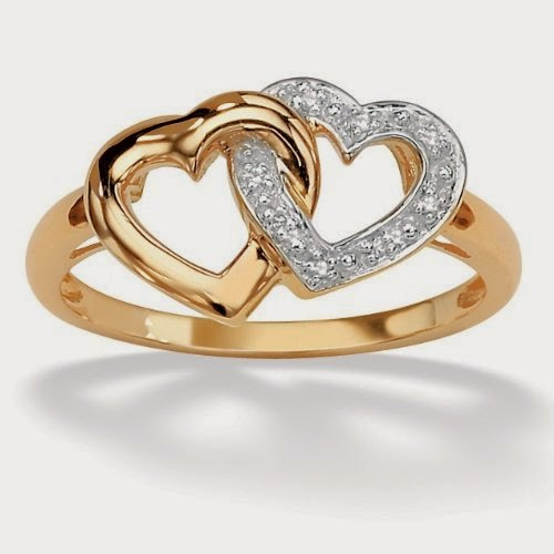 New Fashion Arrivals Beautiful Gold Rings Design 2014 USA