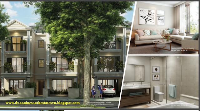 Thiết kế dự án biệt thự Nine South Estates Nhà Bè VinaCapital cao cấp