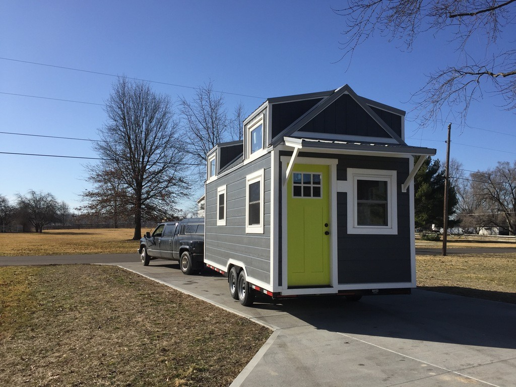 Tiny house town the wanigan tiny house 250 sq ft for House builders in indiana