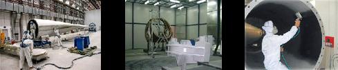 Pintura aerogeneradores