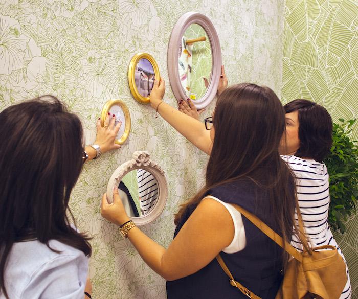 otoño en casa- colección espejos ovalados de aires vintage