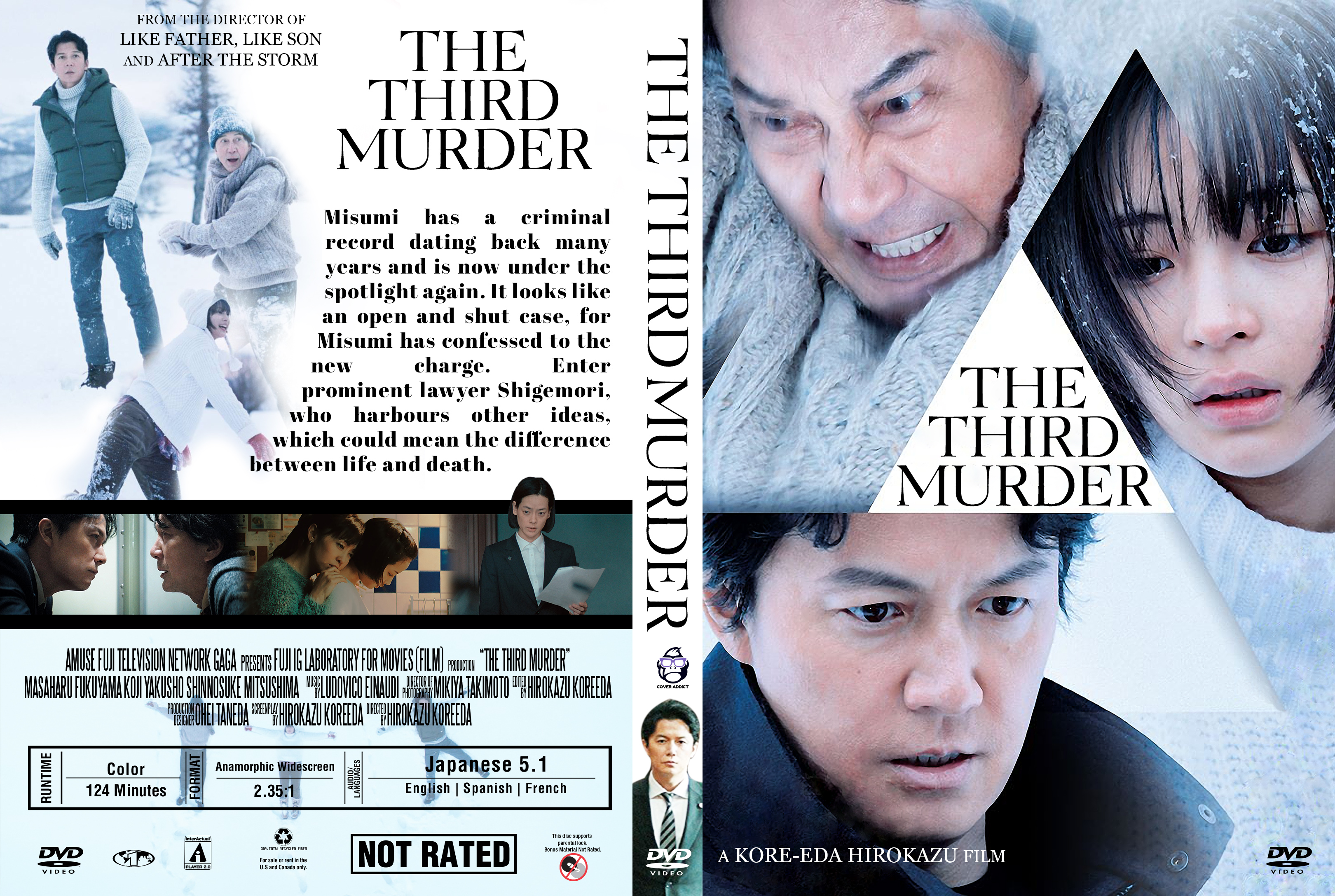 The Third Murder Dvd Cover Cover Addict Free Dvd
