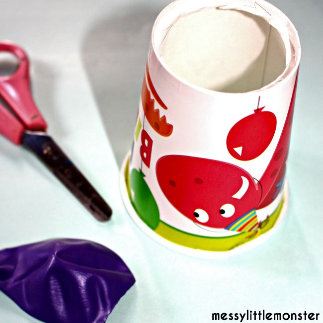 How to make a paper cup pom pom shooter