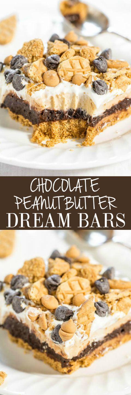 Chocolate Peanut Butter Dream Bars Cucina De Yung