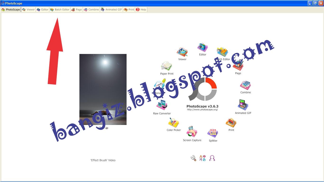 Cara Merubah Ukuran File Foto di PhotoScape | Bangiz