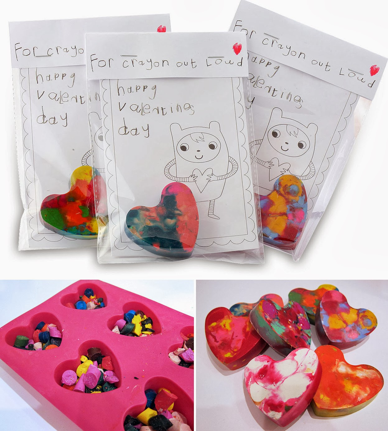 Creative Candy Free Valentines For Kids