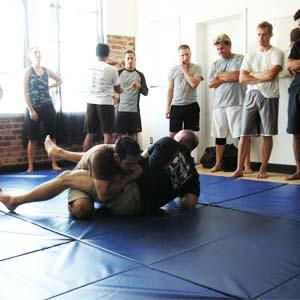 Greatmats Folding Gym Mats used for Martial Arts Training