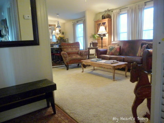My Hearts Song Mobile HomeLiving Room Remodel