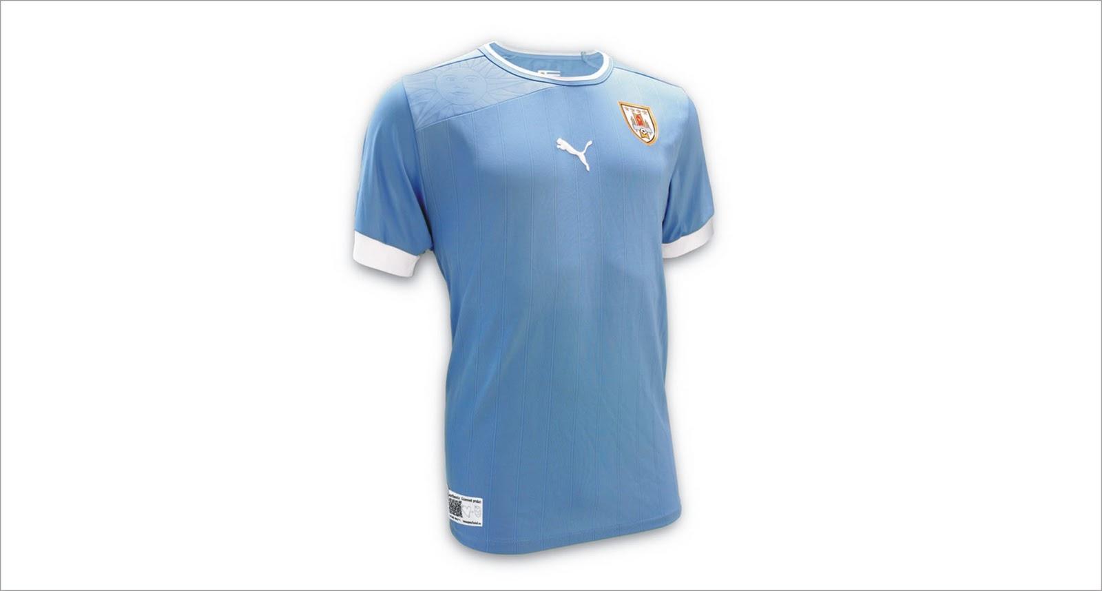 de46094e4 12.11.2011 - PUMA® presentó la nueva camiseta de la Selección Nacional de  Fútbol Uruguaya, con un nuevo diseño especial para el contacto, velocidad y  la ...