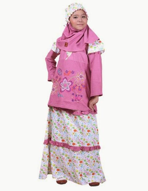 Model Baju Muslim Anak Terbaru 2016