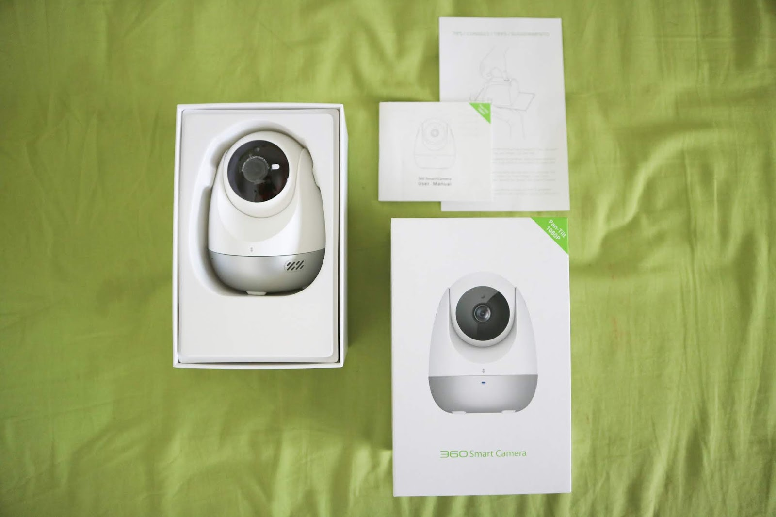 Review: Qihoo 360 Smart Camera with CRY ALERT, Night vision and more