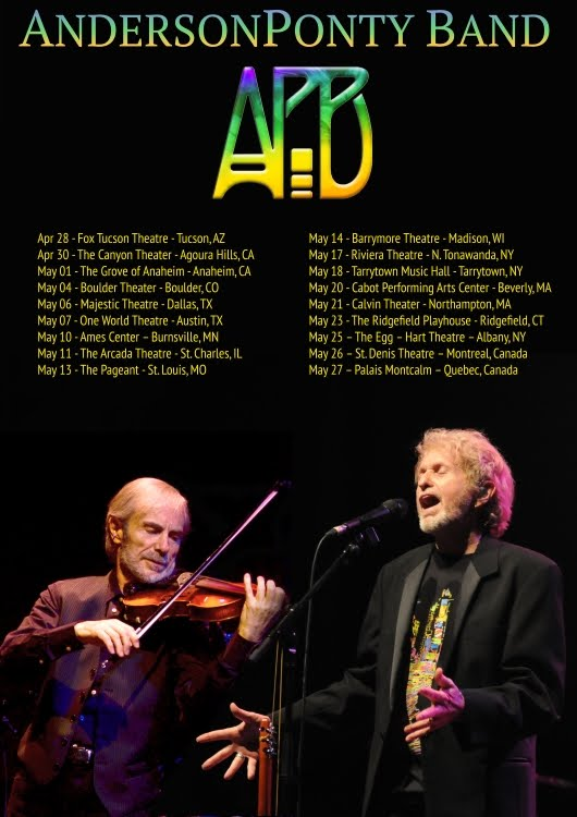 52b8b785a85 AndersonPonty Band Feat. Music Icons Jon Anderson   Jean Luc Ponty To Tour  North America Spring 2016