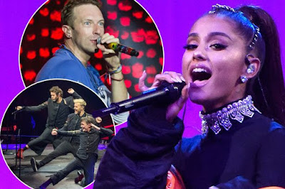 Ariana Grande, Justin Bieber, Katy Perry, Coldplay to headline a memorial concert in Manchester this Sunday