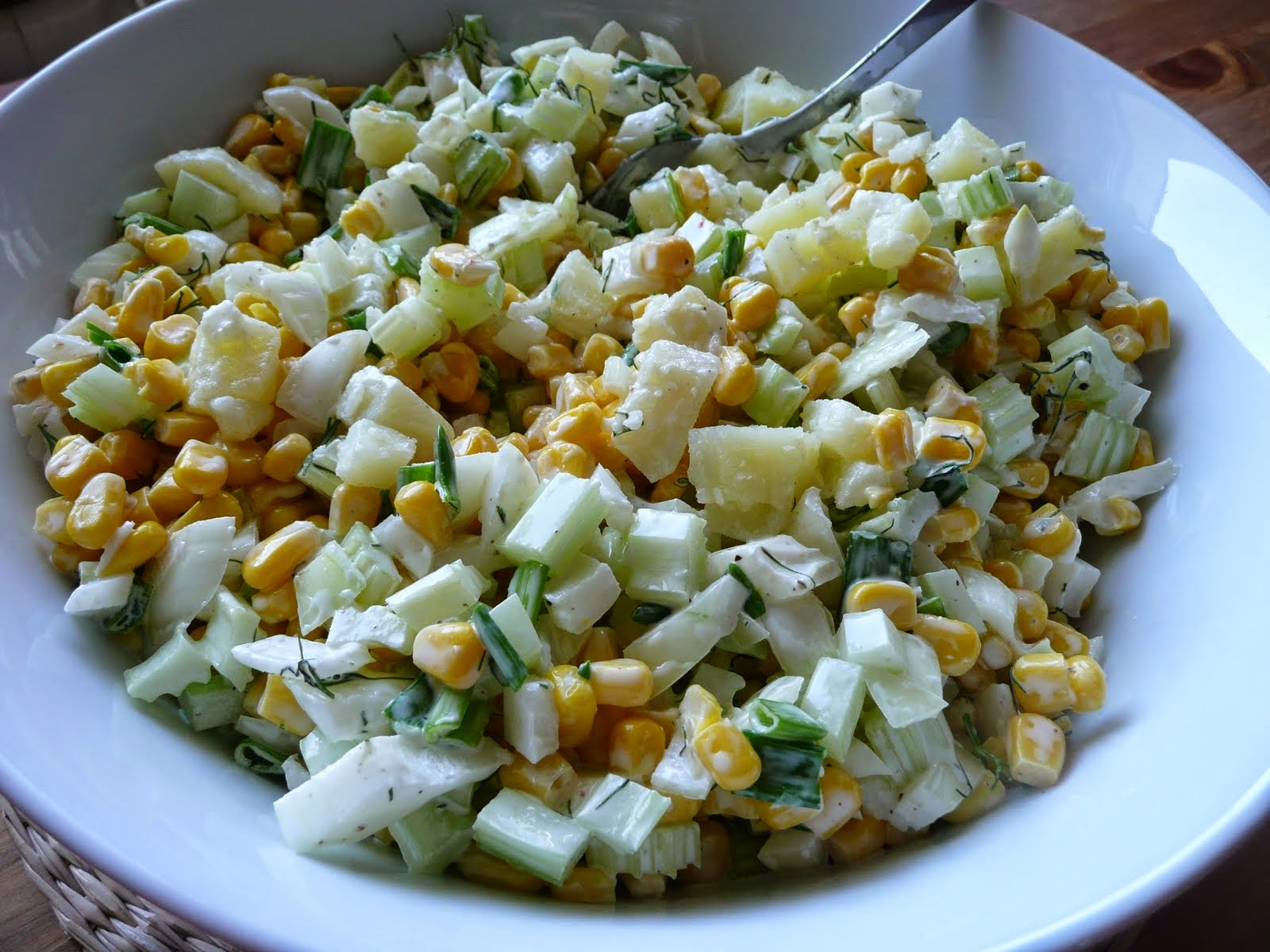 Potato Corn Salad Recipe