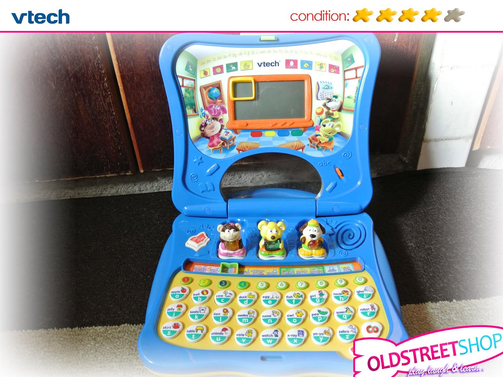 oldstreetshop Vtech Letter Fun Laptop