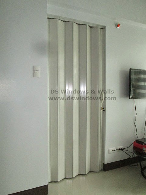 Accordion Door as Standard Inside Door - Pasig Installation